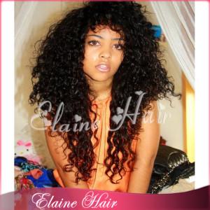 human hair wig brazilian virgin hair with baby hair african american