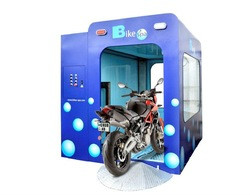 Automatic motorcycle and scooter wash - bike wash