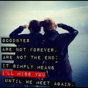 Sad Goodbye Friendship Quotes Sad goodbye friendship quotes