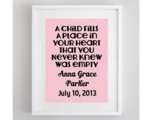 New Baby Girl Quote 8 by 10 8x10 Nu rsery Art Print Digital Download ...