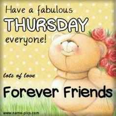 Happy Thursday**