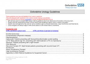 Urologist Exam Video
