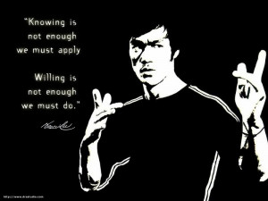 bruce lee philosophy Image