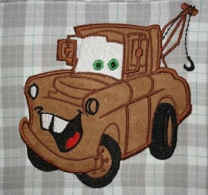 Tow Mater applique