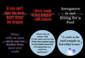 Quotes Button Designs by Fangirls-Trilogy