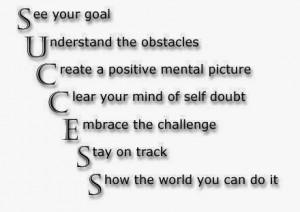 Goal Success Quotes