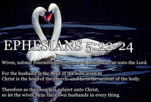 Ephesians 5:22-24 Wives Submit To Your Husband As To Christ HD ...