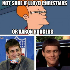 ... was retweeted by Aaron Rodgers himself. He obviously gets the joke