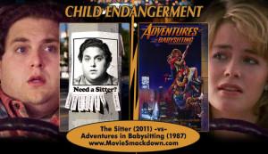 movie titles, movie quote . Adventures in Babysitting ,