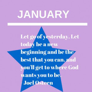 Inspirational Quotes for Each Month