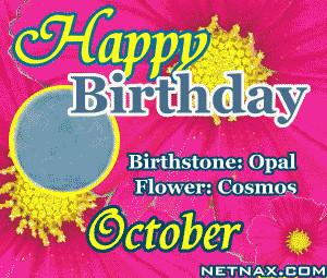 October Birthday Quotes October