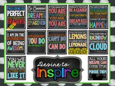 NEW!!! Classroom Rules & Quotes! More