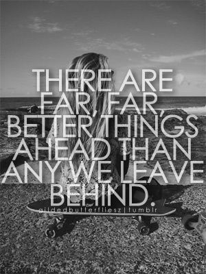 Better things ahead - Quotes Images