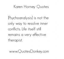 More of quotes gallery for Karen Horney's quotes