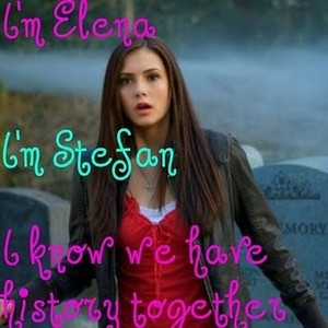 Elena and Stefan Quote Icon Vampire Diaries Credit Lexie