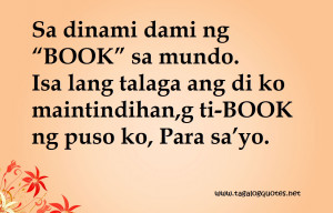 Love Quotes Tagalog Version