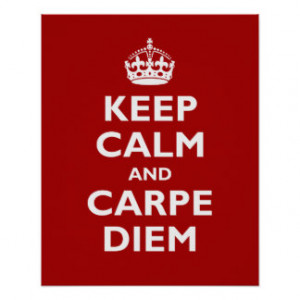 Carpe Diem Posters & Prints