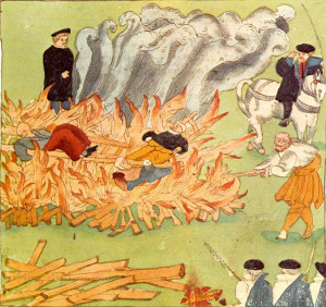 Old English Crime and Punishment: Death By Pyre...A More seemly Death ...