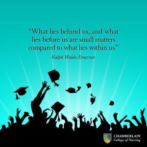 graduation quote ralph waldo emerson