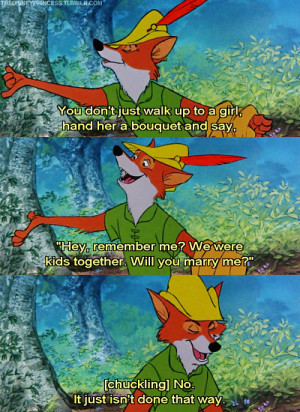 ... ago on 28 december 2010 9 43pm 2489 notes disney robin hood quote