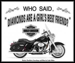men love women harley riders quotes   Harley Davidson - 4ever /