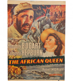 Queen Movie Poster The african queen color movie