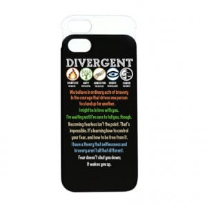 ... Phone Cases > Divergent Symbols Quotes iPhone 5/5S Wallet Case