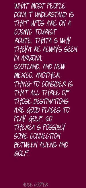 Alice Cooper New Mexico quote