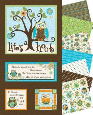 Cute Owl Sayings http://pacificfabrics.blogspot.com/2010_07_01_archive ...