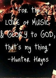quote by Hunter Hayes - preach it, brother! We need more men like ...