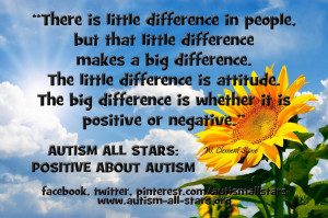 ... All Stars: Positive about autism. Always. #autism #aspergers #quotes
