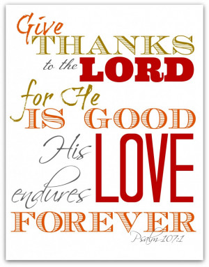 Free Printables Thanksgiving Scriptures & Bible Verses