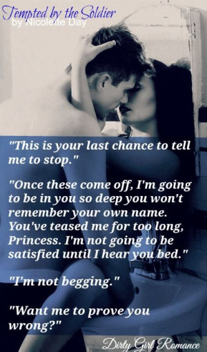 Tempted by the Soldier (Falling for You # 2) by Nicolette Day