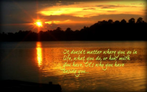 Sunset Love Pretty Quotes...