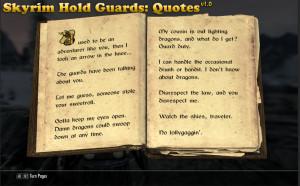 Oblivion Guard Quotes