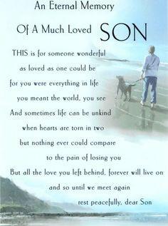 My son,my Angel in Heaven