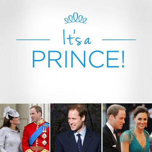Kate Middleton Gives Birth to the Royal Baby — It's a Boy! Prince ...