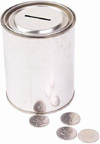 Quotescoop's donations page - picture of a donations box or white ...