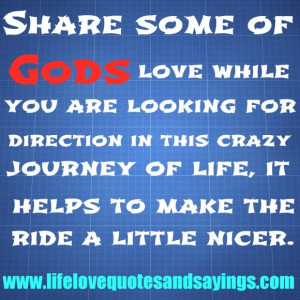 ... Of Gods Love Quotes And Sayings In Blue Theme ~ Religion Inspiration