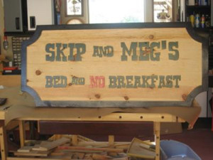 Woodworking Designs Sign Making