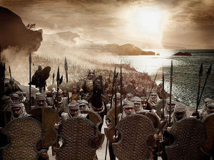 ANCIENT PERSIAN ARMY FINALLY SHOWS UP FOR WORK