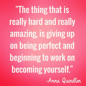 quotes narcolepsy the thing that is really hard and amazing is giving ...
