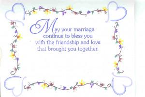 Bridal Shower Greeting Card Sayings