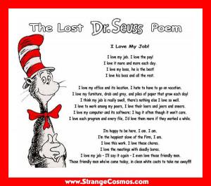 dr seuss poem on aging