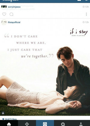 girls, if i stay, quotes, want see