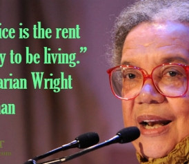Quote of the Day: Marian Wright Edelman on Service