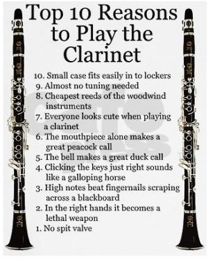 funny clarinet quotes