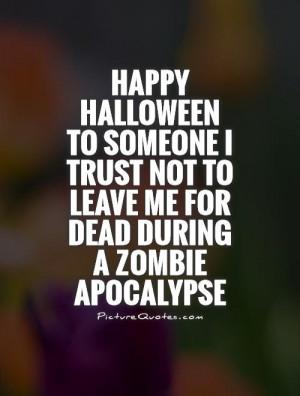 Funny Zombie Apocalypse Quotes