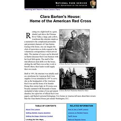 Red Cross Clara Barton Quotes