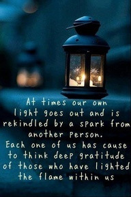 Light up your life with gratitude
